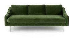 Mirage Grass Green Sofa