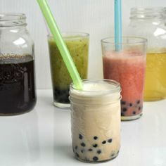 Bubble tea: fruity, milky and tea-y with wonderfully chewy tapioca pearls. Who knew it was so easy to make at home?