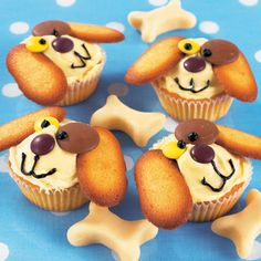 Cupcake dogs