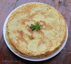 reteta de clatite (1) Hummus, Keto Recipes, Pie, Ethnic Recipes, Desserts, Food, Hip Bones, Cooking, Homemade Hummus