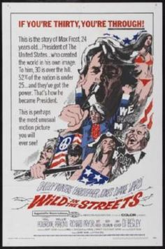Wild In The Streets Movie Poster 24inx36in