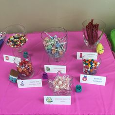 Shopkins party candy station #spkbirthdays