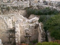 Jerusalem, residential buildings and ritual baths #Israel
