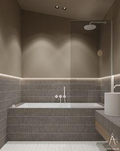 VEUS on Behance Visual Effects, Deco, Adobe Photoshop, Architecture, Modern Bathroom, New Homes, Bathtub, Interior Design, Projects