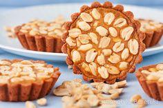 Peanut dulce de leche tartlets