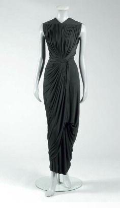 madame gres black dresses - Google Search