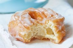 There are two kinds of crullers: hand-twisted cake doughnuts, which are more akin to maple bars; and French crullers made with pâte à choux, which are lighter than air, with all sorts of nooks and crannies to hold onto their light honey glaze. These crullers, one of my family's favorites, are the latter.                  Note: Undercooked crullers will collapse while cooling, so observe the first one and if this happens, increase your frying time (and check your oil temperature) for the…