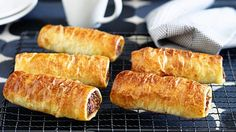 Family sausage rolls with a healthier twist
