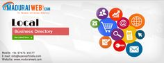 Madurai Web is an online local business directory in Madurai. It is a prime yellow page for all business, services, products, Manufacturers, suppliers, Agencies, etc.