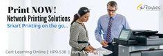 #NetworkPrintingSolutions_v3 Exam #HP0_538 infographics