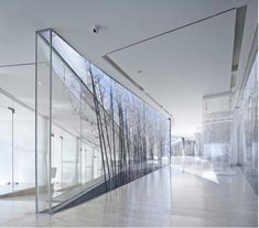 Atrium – nature in the middle of business | architecture . Architektur | Photo: Proper |