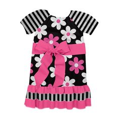 Check out the dress Sophie, Age 6, created on Designed By Me from Lolly Wolly Doodle!