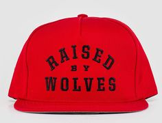 College Snapback Cap by RAISED BY WOLVES 5eb19e4b7b0