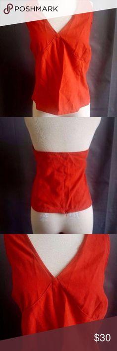 Venezia Women Orange Halter 18 Size 18 Venezia Jeans Women's Halter Top NWT Sleeveless Orange Venezia Tops Tank Tops