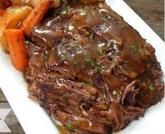 """Slow Cooker """"Melt in Your Mouth"""" Pot Roast - Recipes & Recipes"""