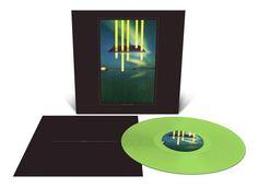 Stranger Things album on mint green vinyl