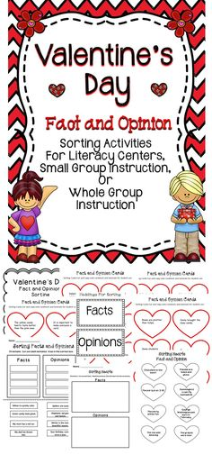 Valentine's Day - This Valentine's Day Activity Book Will Be A Great Addition To The Elementary Classroom! #tpt #literacy