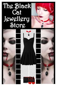 """""""The Black Cat Jewellery Store (34)"""" by irresistible-livingdeadgirl ❤ liked on Polyvore featuring Christian Louboutin, Giuseppe Zanotti, Alexander McQueen, AlexanderMcQueen, emo, GiuseppeZanotti, christianlouboutin, theblackcatjewellerystore, Dark and goth"""