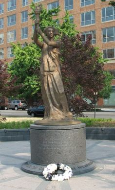 Victims of Communism Memorial in Washington, D.C. by Thomas Marsh located in James M. Goode's Massachusetts Avenue area