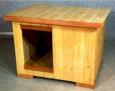 Simple Flat Roof Dog House Plans The flat roof gives your dog a    Flat Roof Dog House