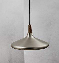 Float Ø39 Brushed Steel Pendant At Billingtonbrown Co Uk Scandinavian Lighting Design