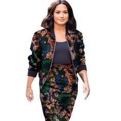 2 Pieces Women African Clothes Jacket Coat and Short Skirt Set Femme Casual African Print Skirts Set Bazin Riche Suits African Dresses For Women, African Fashion Dresses, African Clothes, African Print Skirt, African Print Fashion, Ankara Skirt And Blouse, Womens Sleeveless Tops, Printed Skirts, Short Skirts