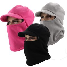 2017 Promotion Winter Hat Warm Outdoor Sport Visor Sun High Quality Cap With Ears Casquette Motorcycle Mask balaclava Headgear