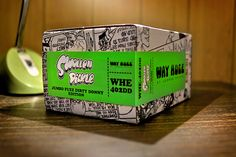 Way Huge® Swollen Pickle™ Jumbo Fuzz Dirty Donny Edition on Packaging of the World - Creative Package Design Gallery