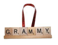 Christmas Ornament, Grammy Grammy Ornament, Grammy Gift,  Mimi, Nana, Nana Gift, Nana Ornament, Grandma, Ornament, nona, Scrabble Ornament  #mom #gram #gramornament #aunt #auntornament #grammy #grammyornament  #momornament #grandma #grandmagift #grandmapresent #christmasornament  #grandmachristmas #etsy #etsychristmas #papa #papachristmas #papgift #dadgift #dadornament #grandpaornament