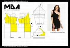 segunda-feira, 18 de maio de 2015 A4 NUM 0072 DRESS Quem já conhece o decote um ombro só, sabe que o modelo fez muito sucesso entre as mulheres há algum tempo. Quem nunca ouviu falar, agora tem a oportunidade de experimentar, pois a moda está de volta em modelos mais modernos e tecidos variados.  http://www.dicasdemulher.com.br/decote-um-ombro-so/
