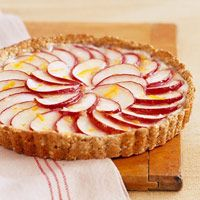 Apple Tart-This is a delicious recipe for an incredible dessert that is also healthy. It is a 1 Carb Choice Diabetic and also a WW 4 Points+ recipe. Makes 12 servings. Diabetic Desserts, Apple Desserts, Low Carb Desserts, Apple Recipes, Diabetic Recipes, Healthy Desserts, Low Carb Recipes, Baking Recipes, Dessert Recipes