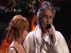 Andrea Bocelli feat  Reba McEntire - Blue Christmas (Live) Love this song!!! I love the creativity and unity music brings!!! A country singer together with an classical Opera singer!!! Amazing!!!
