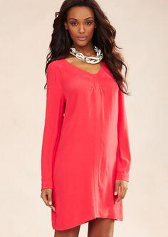 BCBGMAXAZRIA Long Sleeve Levin Dress