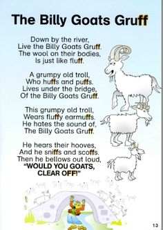 Billy Goats Gruff Lesson Plan - Play Learn Love