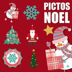 Jonathan a créé pour vous quelques pictos gratuits et fonds de bannières pour Noël. Vous pouvez les utiliser pour créer vos bannières de Noël et pour décorer votre site !