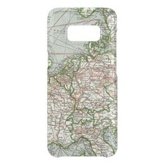 #country - #Vintage Antique Colorful Map Of European Countries Get Uncommon Samsung Galaxy S8 Case