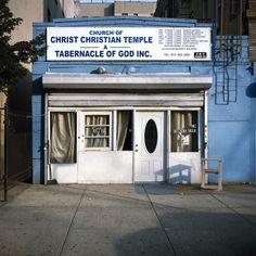 Charles Johnstone Photography - NY STOREFRONT CHURCHES