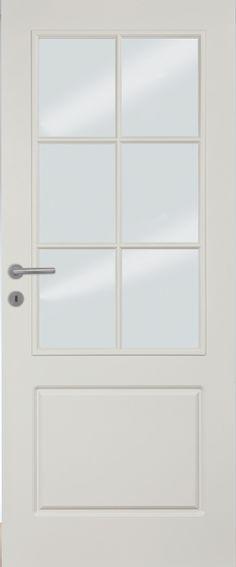 Porte intérieure provence type4002 LA croisillon 3 Portes de style