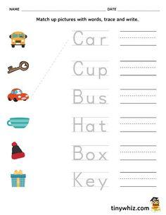 Free Printable Preschool (Pre K) Worksheets - Tiny Whiz