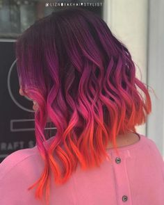 Pink has become one of the most demanding hair colors nowadays. See here our best ever collection of pink hair colors for ever hair color shades to get nowadays. Cute Hair Colors, Pretty Hair Color, Beautiful Hair Color, Hair Color Purple, Hair Dye Colors, Hair Color Shades, Pink Hair, Fun Hair Color, Pink Color