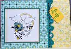 Card crafted by Pat Martin of Patacake Pages, using digi stamp by Diana Garrison
