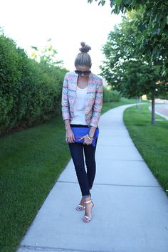 Love this girl's style..this jacket is scrumptious!