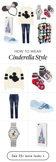 """""""Traveling disney style"""" by madeleineunicorn on Polyvore featuring Disney and Uniqlo"""