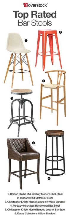 Whether you are enjoying breakfast from your kitchen counter bistro, or your favorite cocktails from your in home bar, stylish bar stools provide a sense of authenticity and add comfort to your experience. Discover modern, traditional and natural bar stools on Overstock that will enhance your home – and increase your seating! Save 10% off and more when you join Club O today.