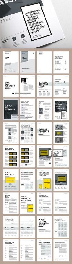 Mluncur Clean Proposal Template Proposal templates, Business - ms word proposal template