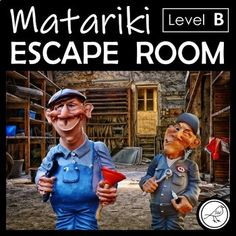Celebrate the Māori New Year with this fun and engaging Matariki Escape Room Code-Breaking Challenge.THE SCENARIO:You are on a class trip at the Observatory and Stardome as part of your Matariki learning. You find yourself trapped in Big Jim and Little Al's workshop. They will tell you how to esca... School Resources, Classroom Resources, Teaching Resources, Goal Setting Template, Coding For Kids, Teacher Notes, Spelling Words, Classroom Environment, Class Activities