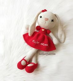 Birbirinden Yeni ve Güzel Örgü Modelleri Teddy Bear, Christmas Ornaments, Toys, Holiday Decor, Animals, Amigurumi, Activity Toys, Animales, Animaux
