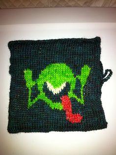 Geek knitting! Hitchhiker's Universe
