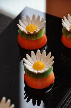 Orange blossom cakes for Easter