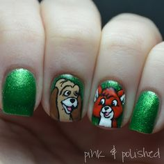 Pink & Polished: Disney Days: Fox and the Hound